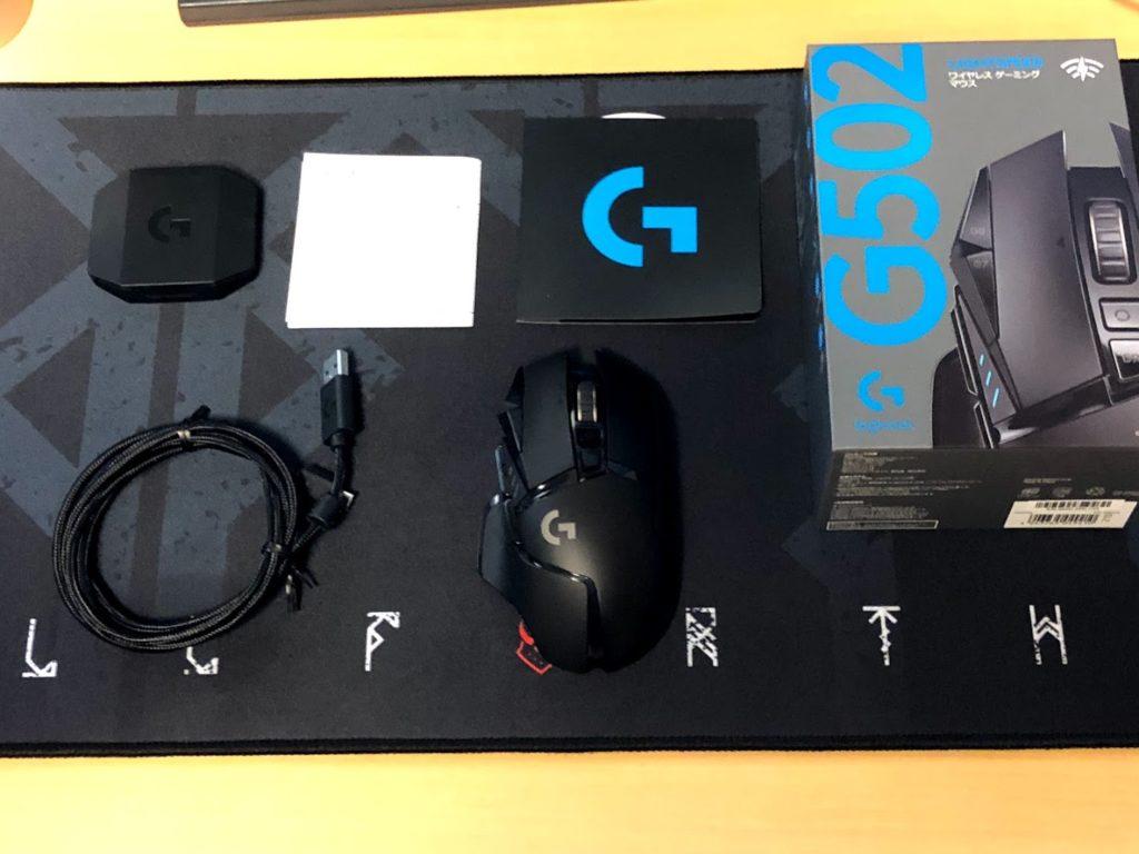 G502WL付属品