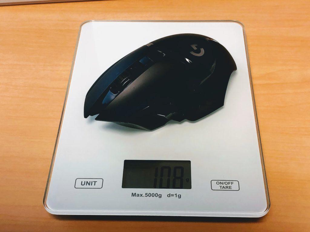 G502WL重量